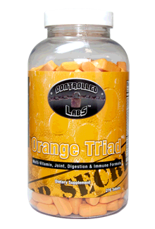 Controlled Labs Orange TRIad - Multivitamin, Joint, Digestion, and Immune Supplement